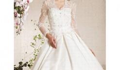 Robe de mariée dentelle, elle etait si jolie !