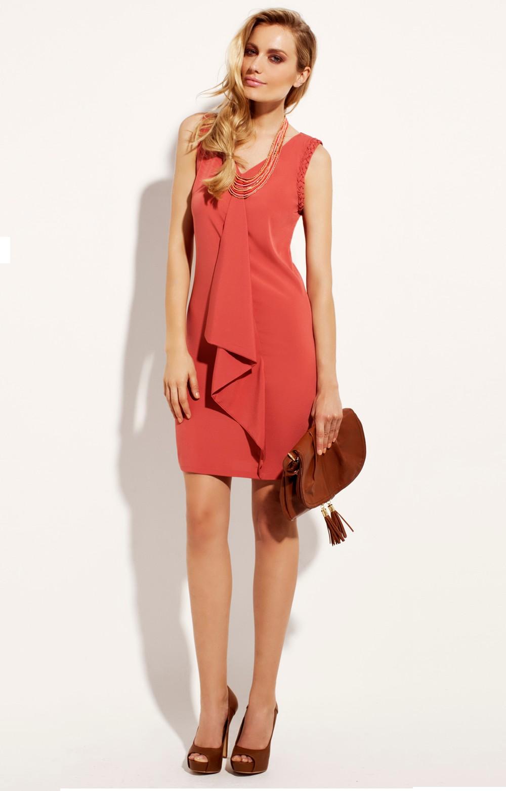 Acheter une robe corail en ligne